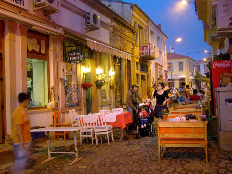Restaurants on Cunda