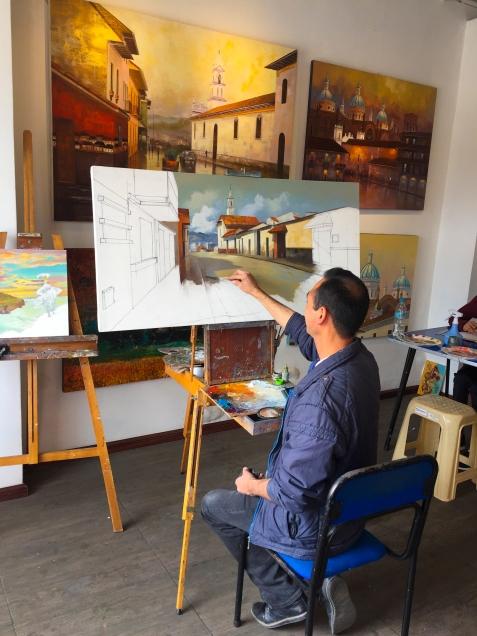 Calle Larga Painters Studio_002